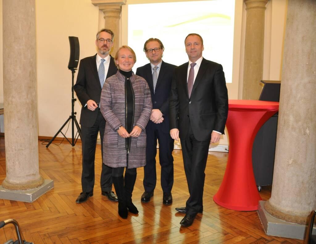 ZFA Heiko Geiger, Heike Arbter, Markus Kaller, Frank Weingarts, © Valerie Ferencic / ZFA (22.01.2017)