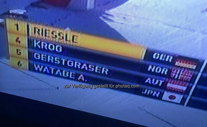 5. Rang für Paul Gerstgraser