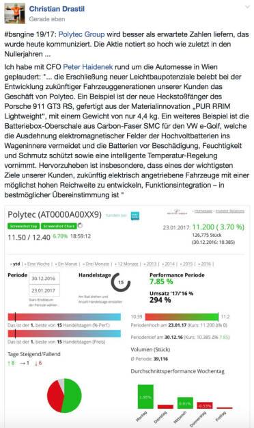 Polytec-Aktie so hoch wie zuletzt in den Nullerjahren @drastil (23.01.2017)