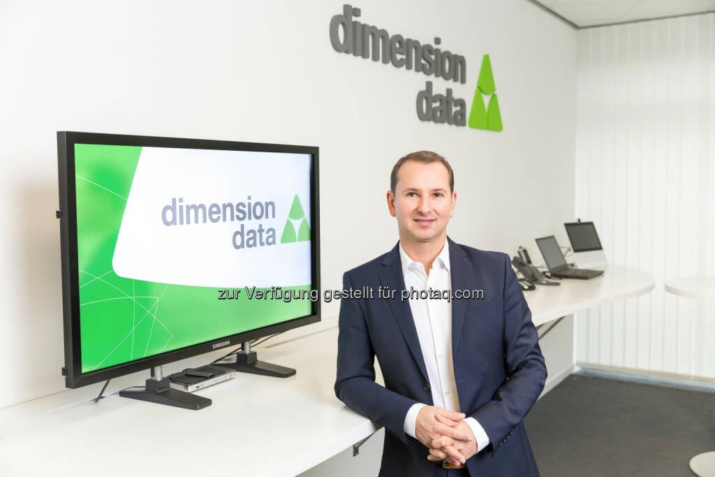 Robert Leeb übernimmt die Regionsleitung für Salzburg und Oberösterreich bei Dimension Data Austria (C) Dimension Data, © Aussender (24.01.2017)