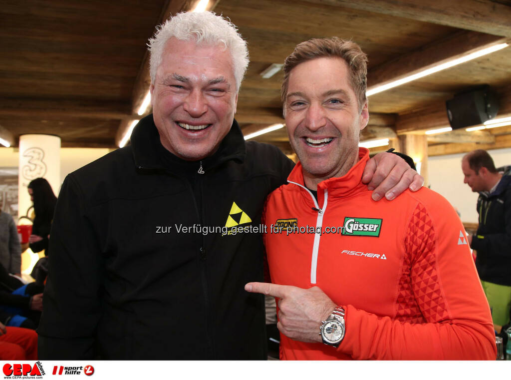 Ski for Gold Charity Race. Image shows Toni Polster and Hans Knauss. Photo: GEPA pictures/ Harald Steiner (26.01.2017)