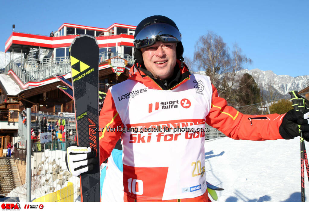 Ski for Gold Charity Race. Image shows Toni Polster. Photo: GEPA pictures/ Harald Steiner (26.01.2017)