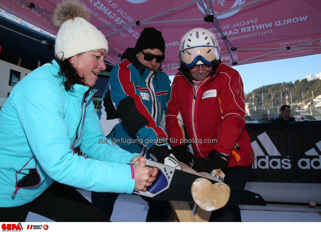 Ski for Gold Charity Race. Image shows fans. Photo: GEPA pictures/ Harald Steiner (26.01.2017)