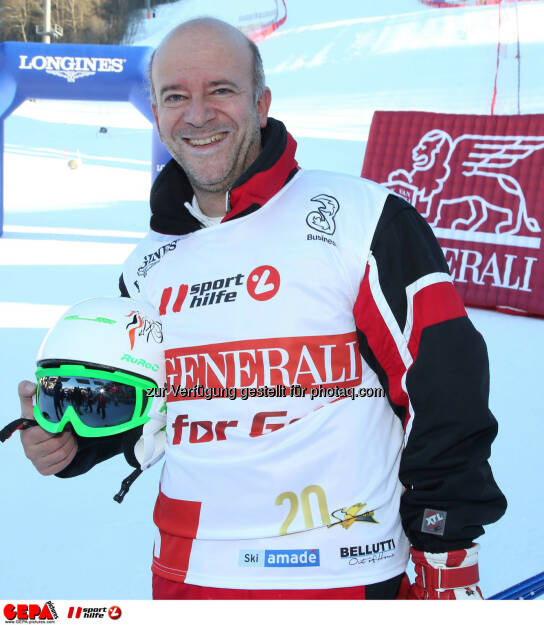 Ski for Gold Charity Race. Image shows Andy Lee Lang. Photo: GEPA pictures/ Harald Steiner (26.01.2017)