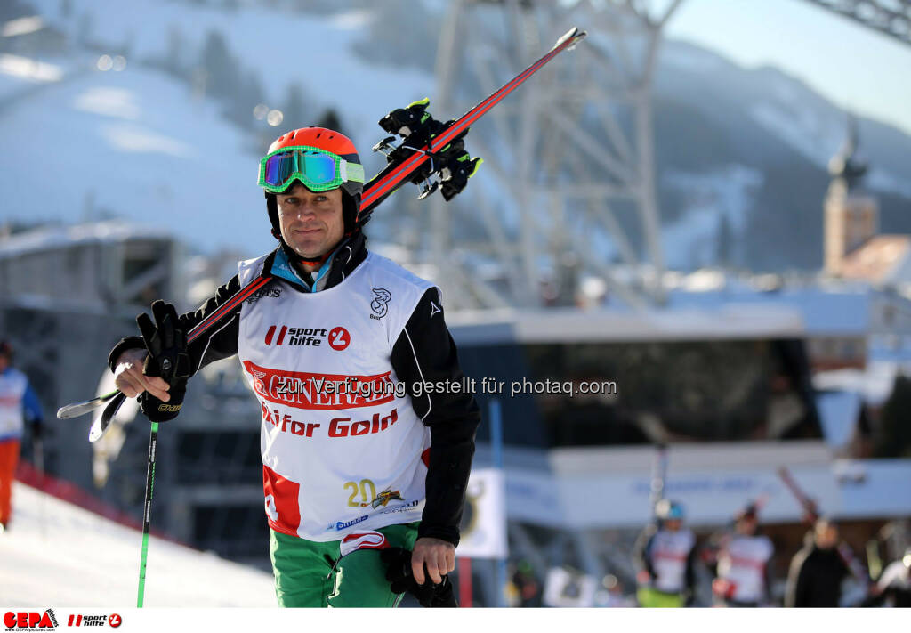 Ski for Gold Charity Race. Image shows Thomas Reisenberger. Photo: GEPA pictures/ Daniel Goetzhaber (26.01.2017)