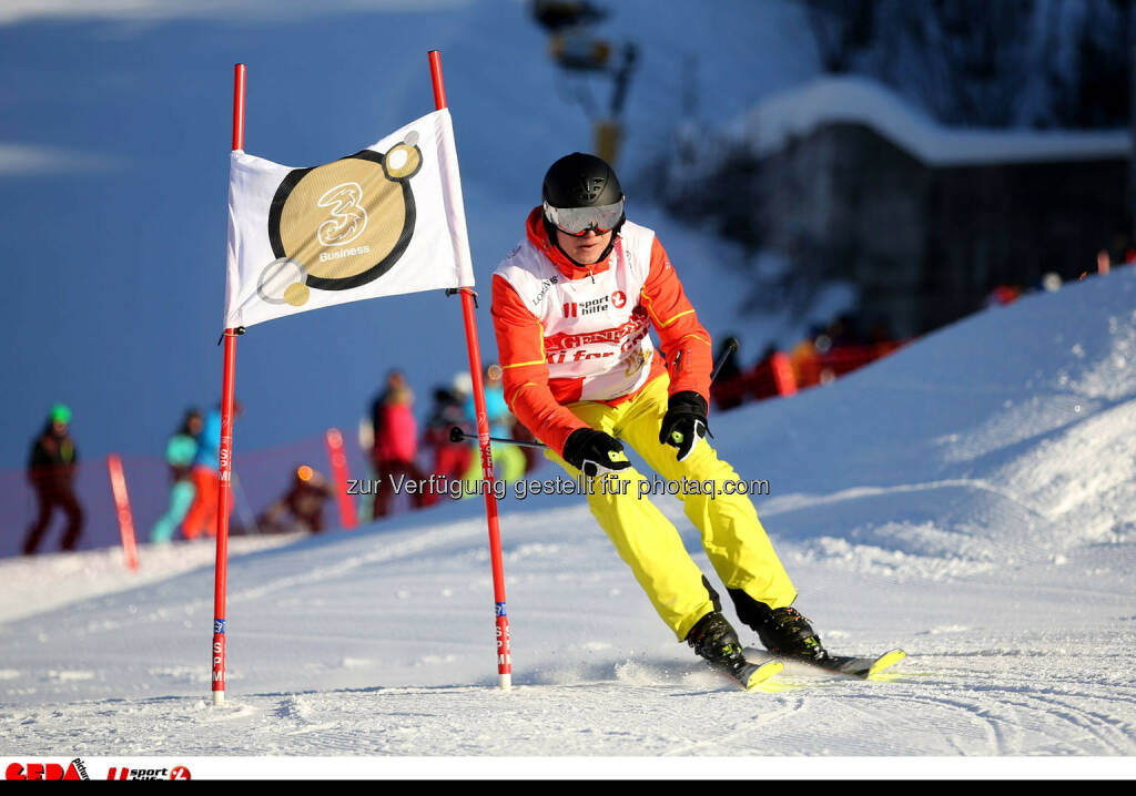 Ski for Gold Charity Race. Image shows Toni Polster. Photo: GEPA pictures/ Daniel Goetzhaber (26.01.2017)