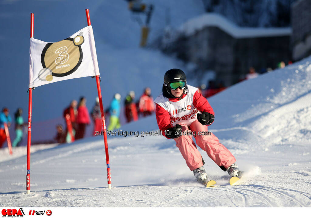 Ski for Gold Charity Race. Image shows Marisa Burger. Photo: GEPA pictures/ Daniel Goetzhaber (26.01.2017)