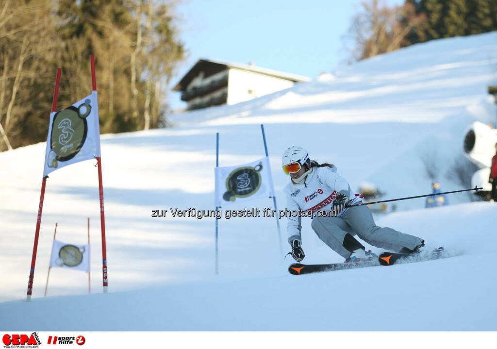 Ski for Gold Charity Race. Image shows Brigitte Kliment-Obermoser. Photo: GEPA pictures/ Daniel Goetzhaber (26.01.2017)