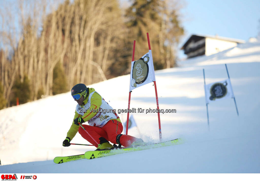 Ski for Gold Charity Race. Image shows Hans Knauss. Photo: GEPA pictures/ Daniel Goetzhaber (26.01.2017)