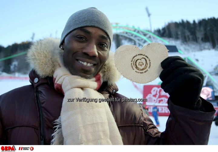 Ski for Gold Charity Race. Image shows Trevor Jackson. Photo: GEPA pictures/ Daniel Goetzhaber