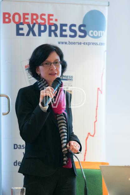 Nina Higatzberger (Leiterin Investor Relations Vienna Insurance Group) , © Martina Draper für Börse Express (09.05.2013)