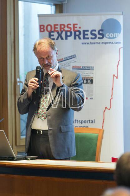 Wolfgang Schwaiger, Head of Group Communications Constantia Flexibles , © Martina Draper für Börse Express (09.05.2013)