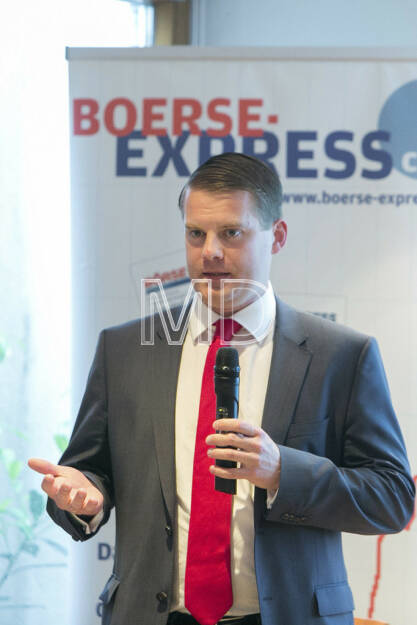 Stefan Schönauer (Head of Corporate Finance & Investor Relations Immofinanz) , © Martina Draper für Börse Express (09.05.2013)