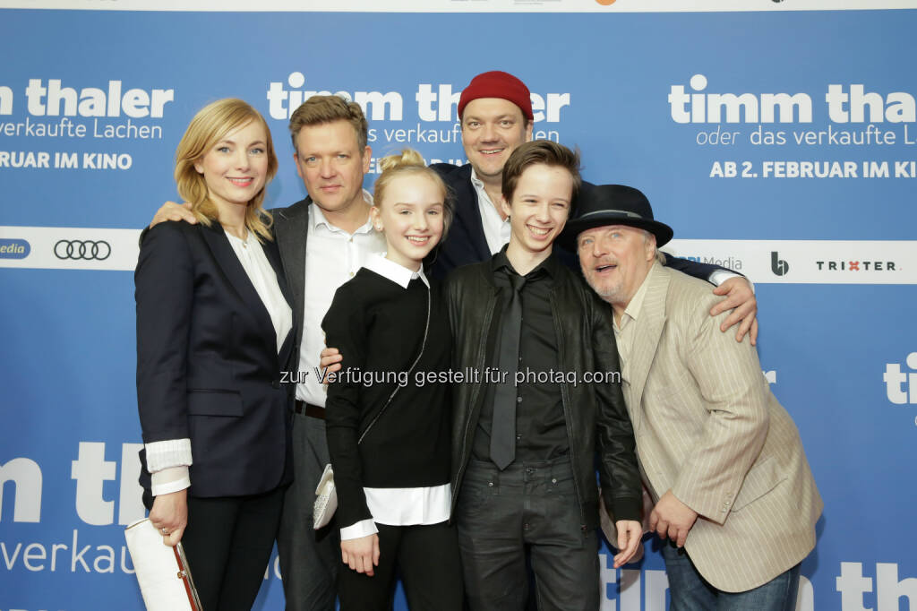 Constantin Film: Timm Thaler oder Das verkaufte Lachen feiert umjubelte Premiere in Berlin (Bild: Constantin Film, Markus Nass), © Aussender (30.01.2017)