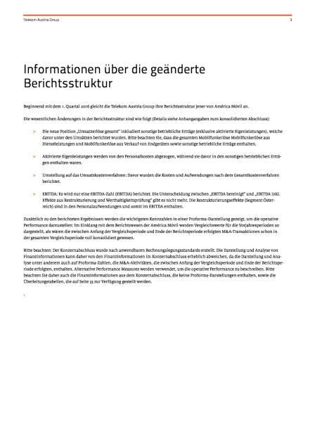 Telekom Austria Group steigert Gewinn um 5,2% - Ergebnis für das Geschäftsjahr 2016, Seite 3/39, komplettes Dokument unter http://boerse-social.com/static/uploads/file_2078_telekom_austria_group_steigert_gewinn_um_52_-_ergebnis_fur_das_geschaftsjahr_2016.pdf (30.01.2017)