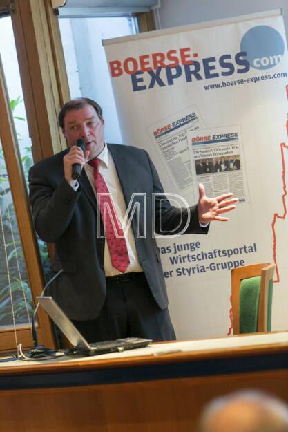 Hannes Roither (Konzernsprecher Palfinger), © Martina Draper für Börse Express (09.05.2013)