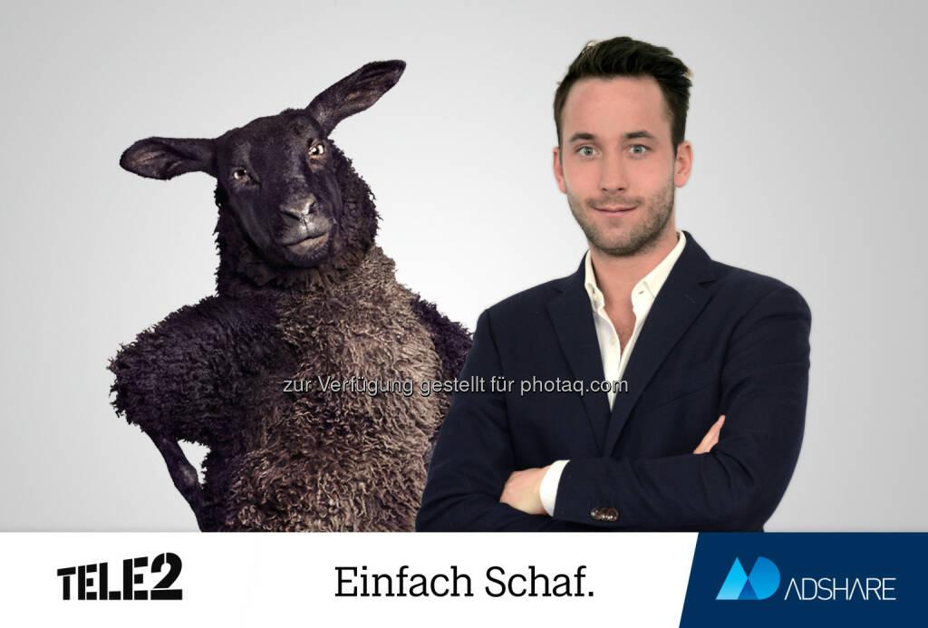 Felix Raunegger - Adshare GmbH: Tele2 Österreich setzt auf Adshare als neue Digital Full Service Agentur (Fotocredit: Adshare GmbH), © Aussendung (31.01.2017)