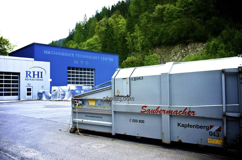 RHI, Veitsch, Saubermacher (09.05.2013)
