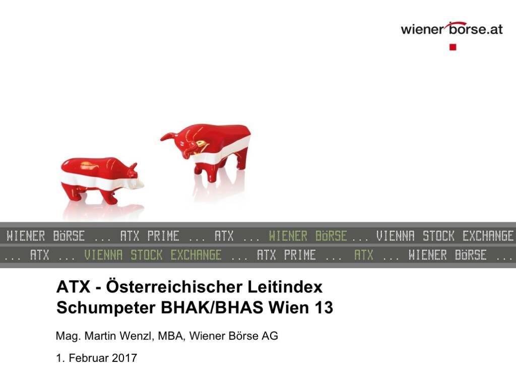 ATX - Österreichischer Leitindex (01.02.2017)