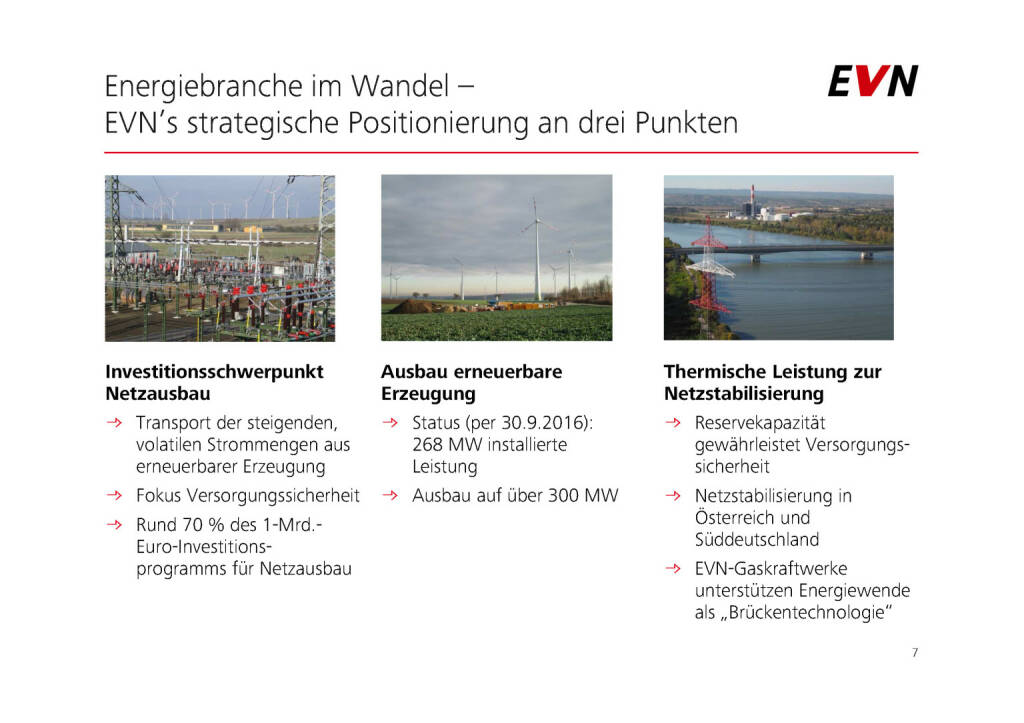 EVN - Energiebranche im Wandel (01.02.2017)