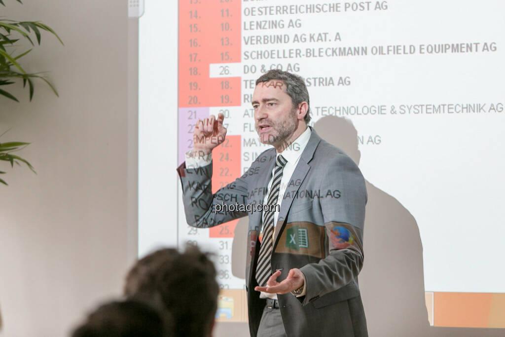 Martin Wenzl (Wiener Boerse), © Martina Draper/photaq (01.02.2017)