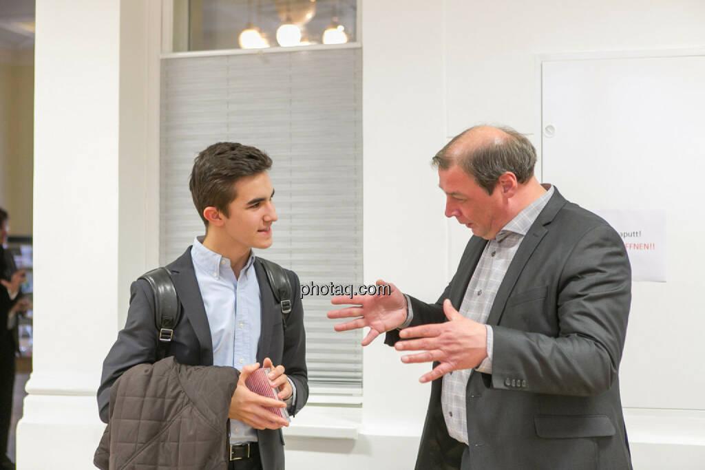 Hannes Roither (Palfinger) im Gespräch, © Martina Draper/photaq (01.02.2017)