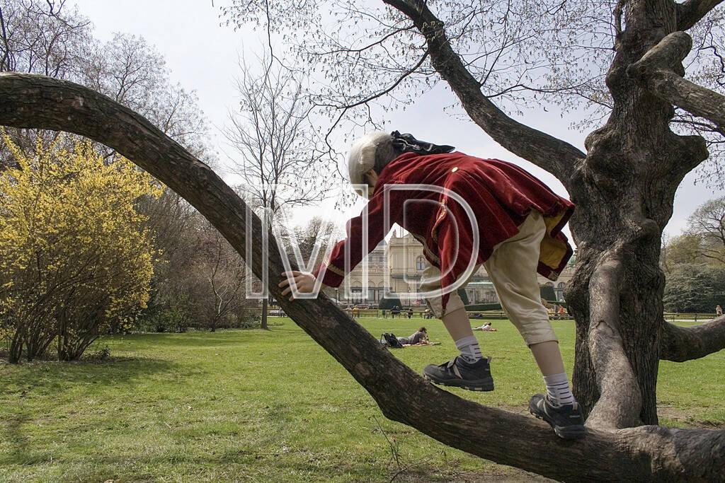 Mozart im Stadtpark, © Martina Draper (10.05.2013)