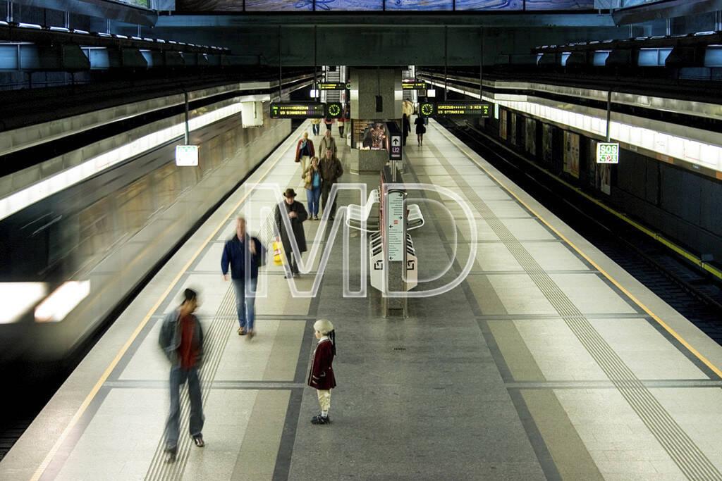 Mozart in der U-Bahn, © Martina Draper (10.05.2013)