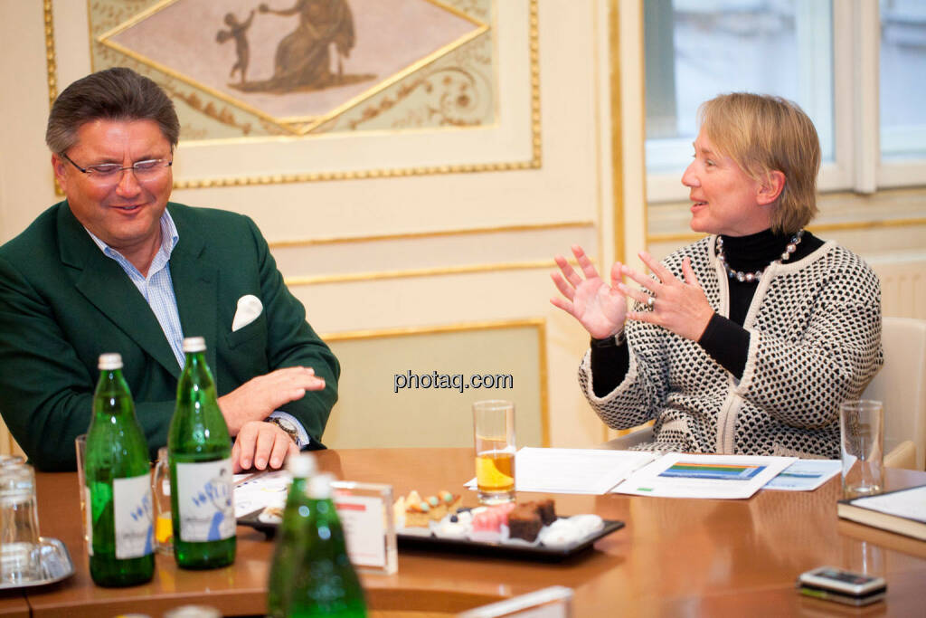 Karl-Heinz Strauss (Porr), Heike Arbter (RCB), © Michaela Mejta (02.02.2017)