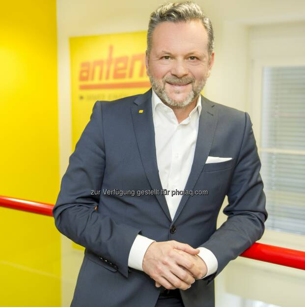 Antenne Geschäftsführer Gottfried Bichler - Antenne Steiermark: Antenne ist das Regionalradio Nr. 1 in Kärnten (Fotocredit: Antenne), © Aussender (03.02.2017)