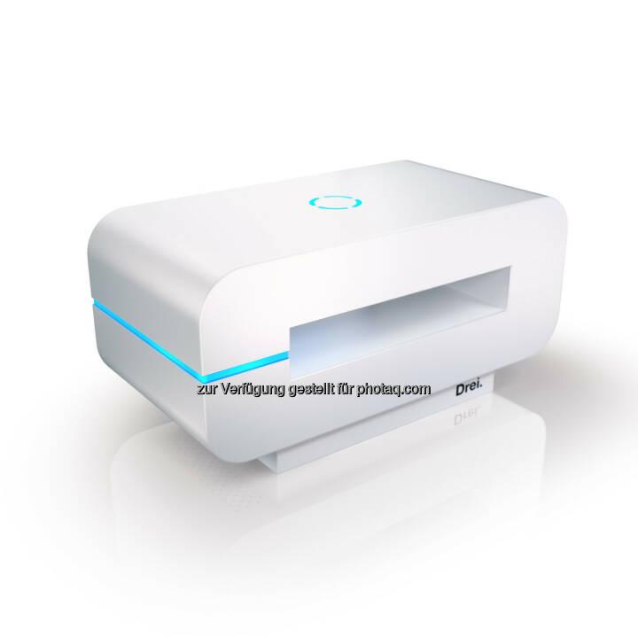 3neo, LTE-fähig, bis max 300 Mbit/ Sek (Cat 6) - Hutchison Drei Austria Gmbh: 3neo: Internet neu gedacht. (Fotocredit: Drei)