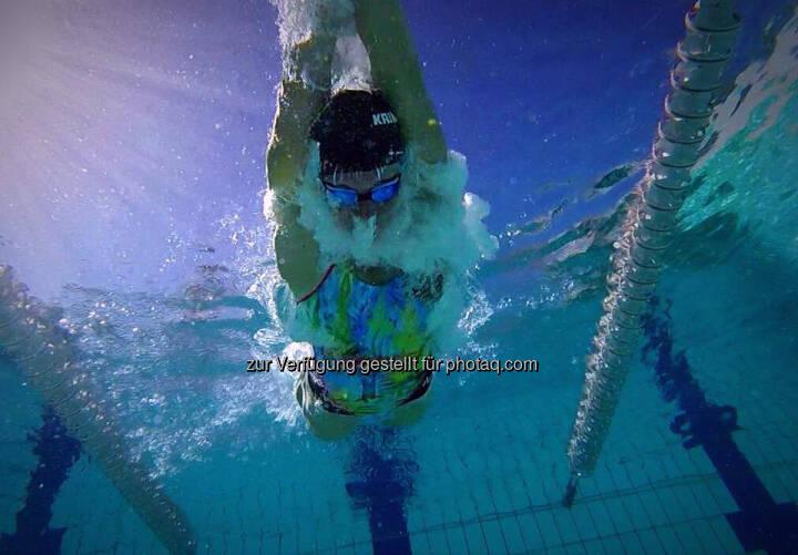 Tanja Stroschneider, schwimmen, unter Wasser, atmen
