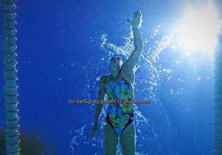 Tanja Stroschneider, schwimmen, kraulen