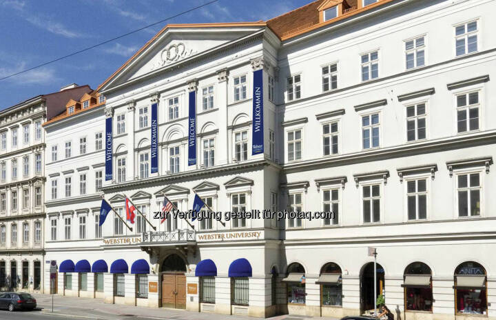 Webster Vienna Private University, Palais Wenkheim, Roadshow #67