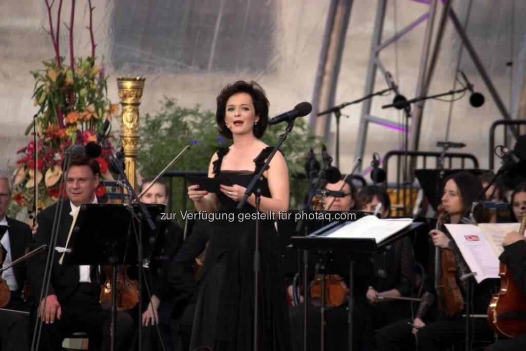 Julia Stemberger, © Kurt Danner (Wiener Symphoniker) (10.05.2013)