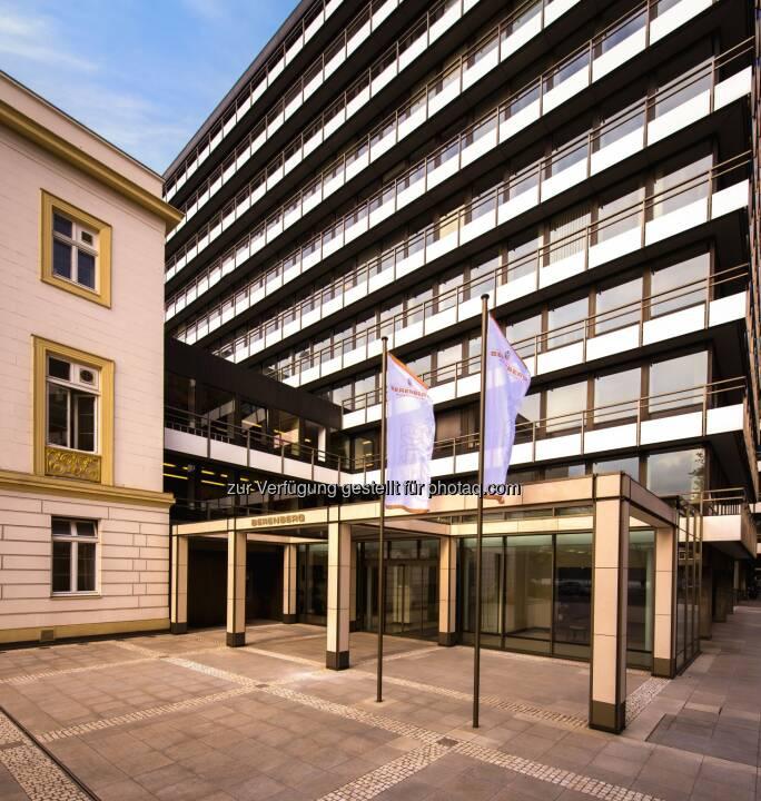 Berenberg: Jahresüberschuss von Berenberg steigt um 56% auf 161 Mio. Euro (Fotocredit: Berenberg)