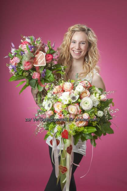 Wirtschaftskammer Wien: WK Wien: Wiener schenken zum Valentinstag 6,7 Millionen Blumen (Fotocredit: Blumenbüro Österreich), © Aussender (07.02.2017)