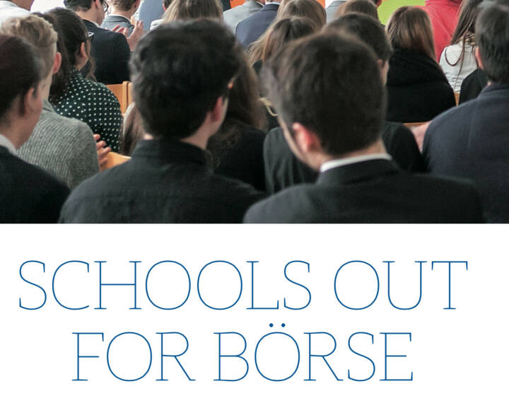 Schools Out For Börse @drastil