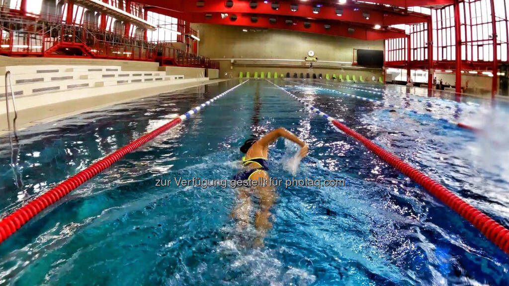 Monika Kalbacher, schwimmen, Stadthalle (09.02.2017)