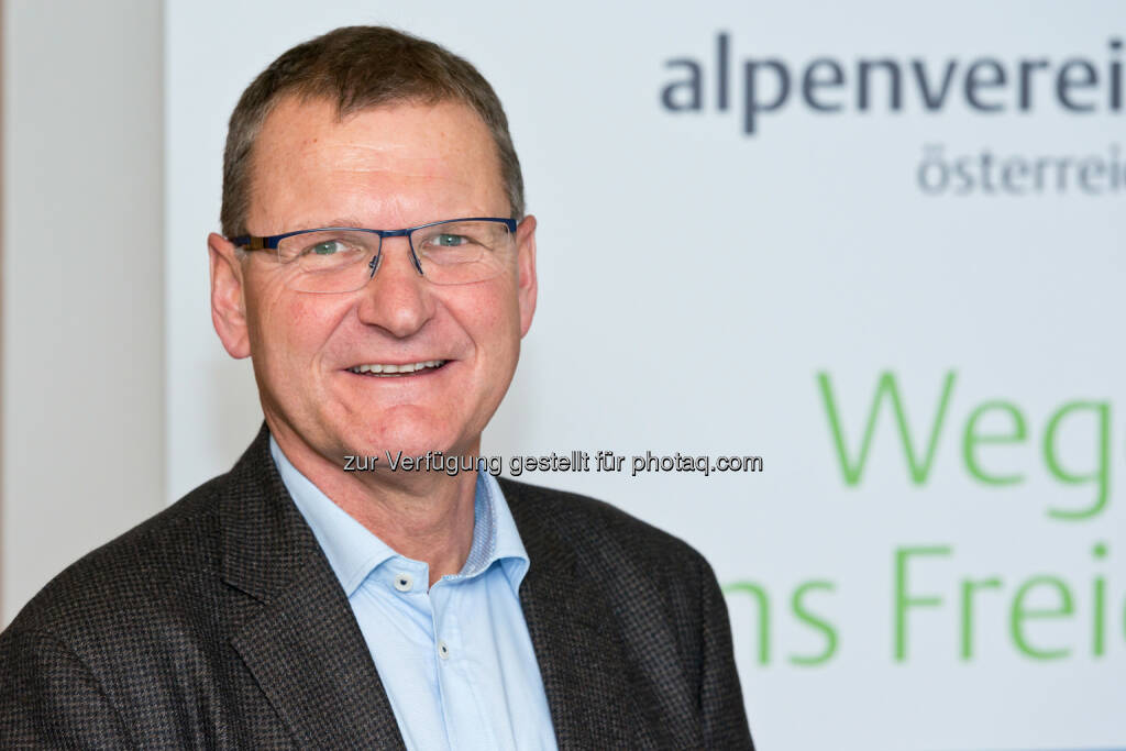 Alpenvereinspräsident Dr. Andreas Ermacora - Österreichischer Alpenverein: Begeisterung für den Alpenverein hält an (Fotocredit: Alpenverein/Freudenthaler), © Aussender (09.02.2017)