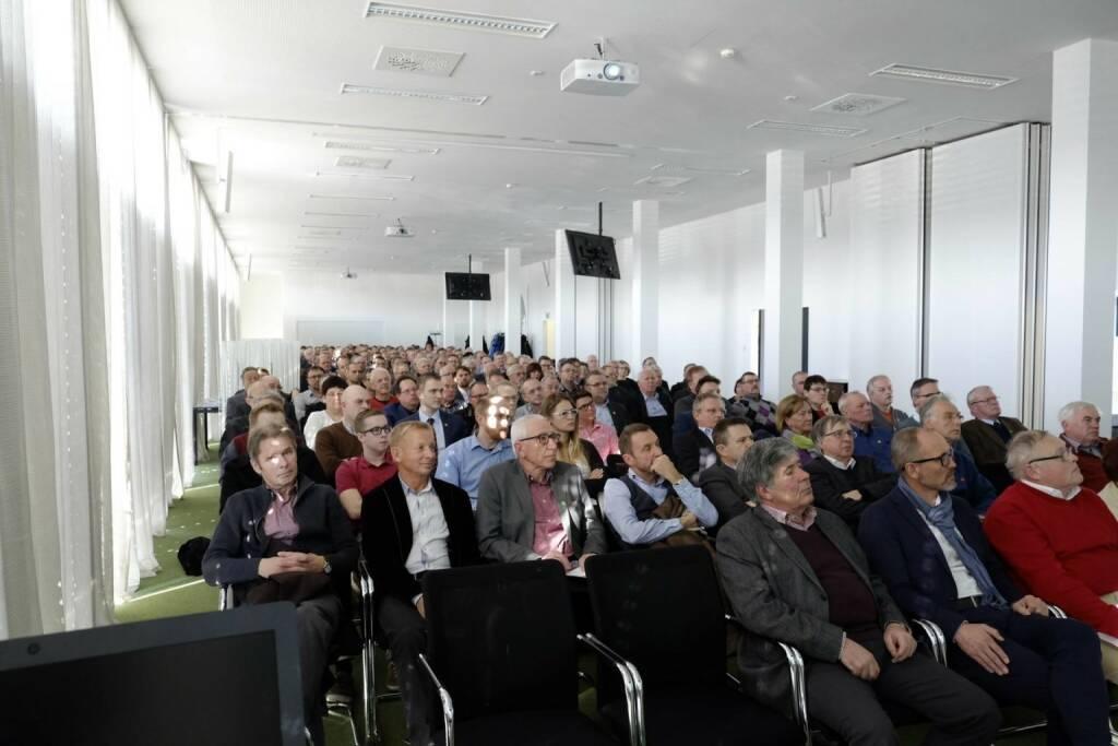 FACC-Aktionärstag: 230 Gäste, ausgebucht @drastil #facc (10.02.2017)