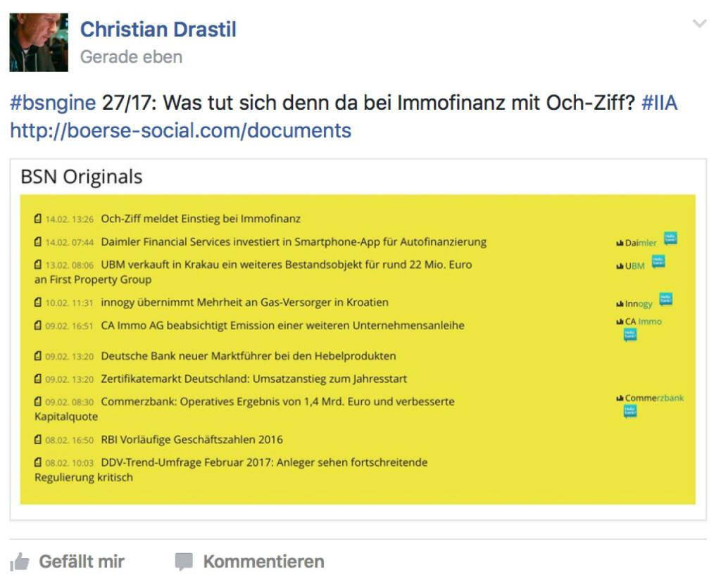 Immofinanz & Och-Ziff (14.02.2017)
