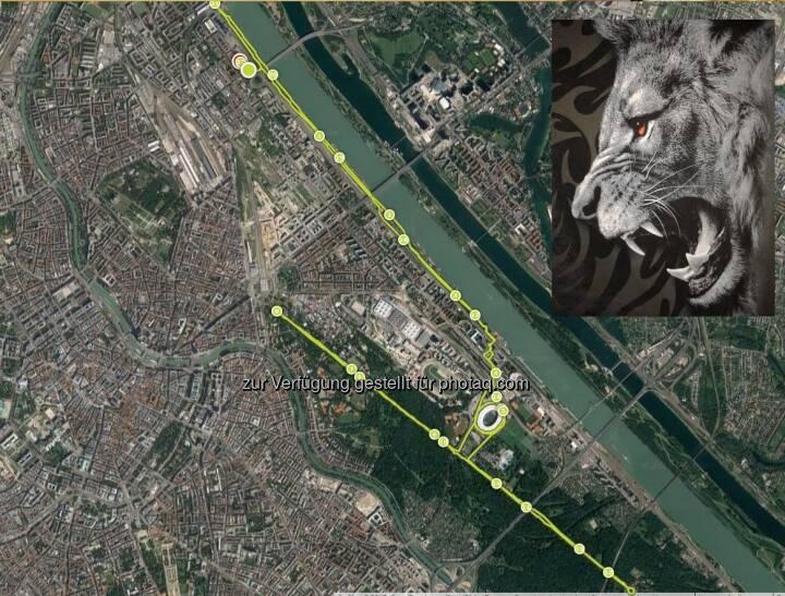 Map, Wien, laufen