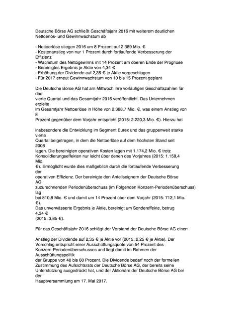 Deutsche Börse GF 2016, Seite 1/5, komplettes Dokument unter http://boerse-social.com/static/uploads/file_2114_deutsche_borse_gf_2016.pdf (15.02.2017)