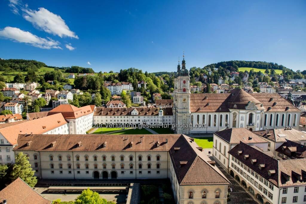 Stiftsbezirk St.Gallen UNESCO Weltkulturerbe - Schweiz Tourismus: Mehr als Wurst und Weltkulturerbe (Fotocredit: St.Gallen-Bodensee Tourismus), © Aussender (16.02.2017)
