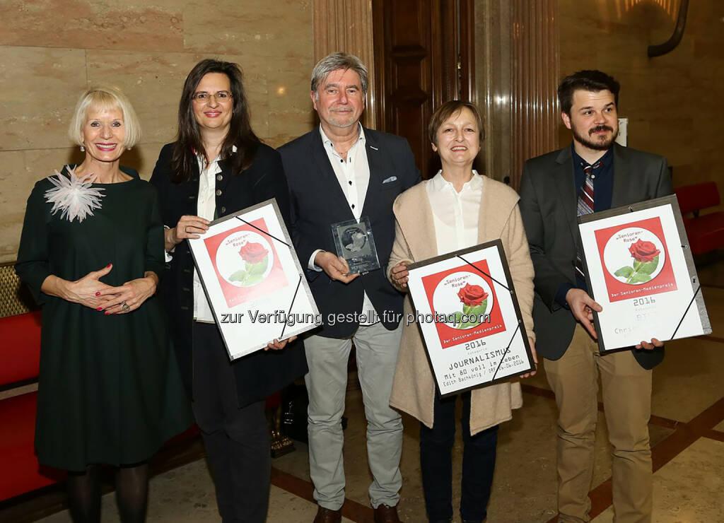 Brau Union Österreich AG: Gösser stärkt Miteinander der Generationen: Werbespot mit Senioren-Rose ausgezeichnet (Fotocredit: J. Hannes Hochmuth, Österreichischer Journalistenclub), © Aussendung (16.02.2017)