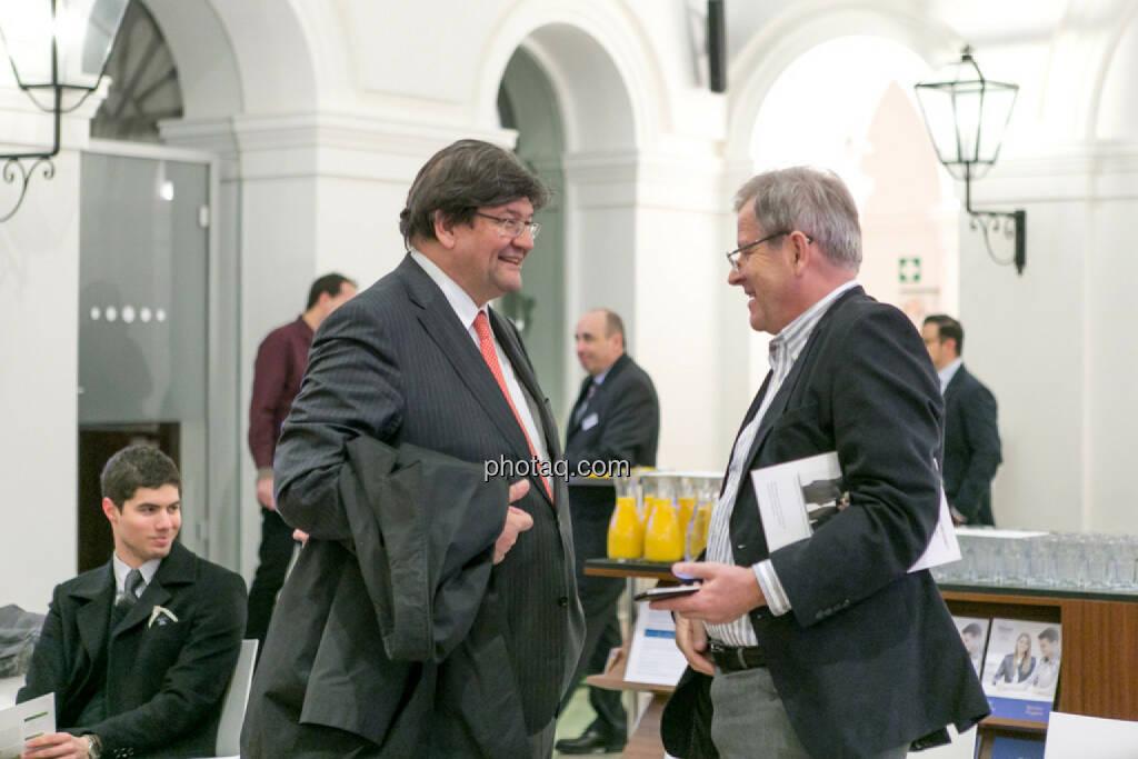 Stefan Zapotocky, Eduard Zehetner, © Martina Draper/photaq (16.02.2017)