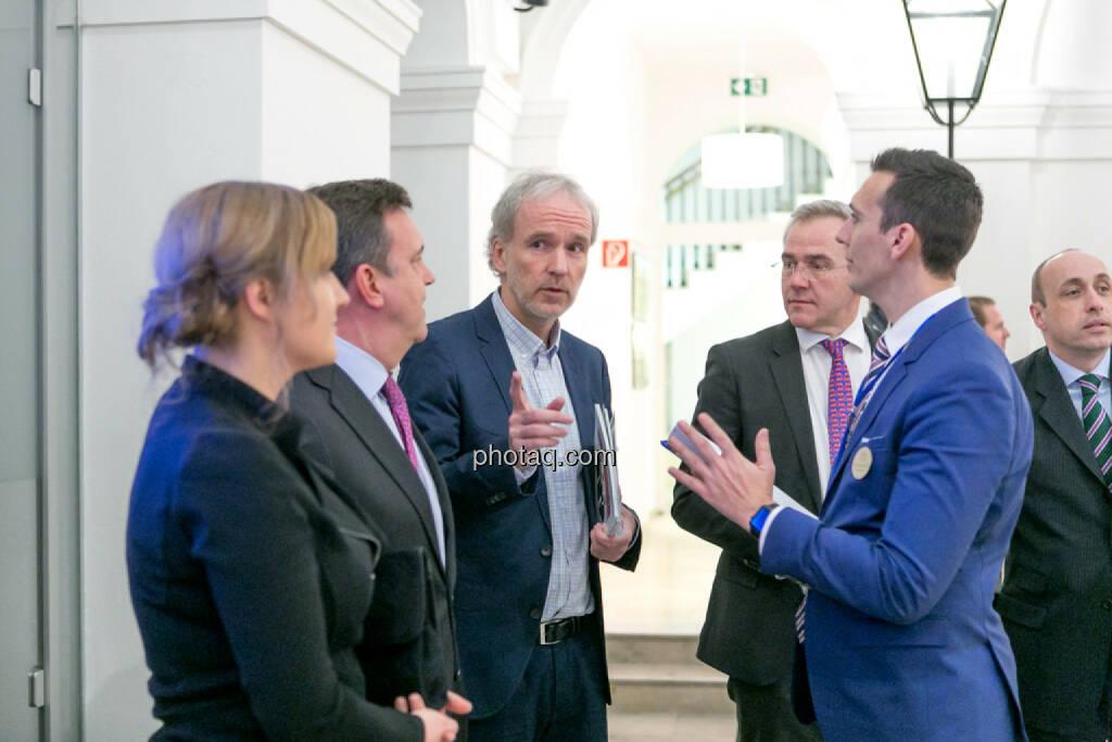 Christian Drastil, Rene Prinz, Nikolaos Antonakakis, Michael Müller, © Martina Draper/photaq (16.02.2017)