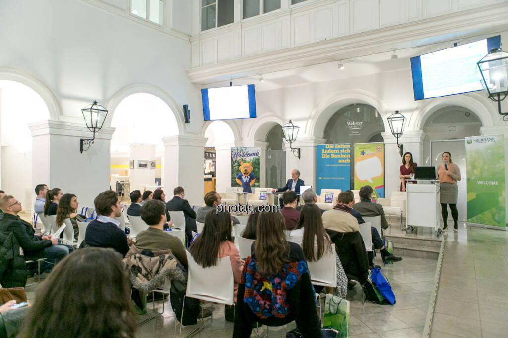 Linda Michalech (Sberbank), Anja Soffa (Sberbank) Webster University , © Martina Draper/photaq (16.02.2017)