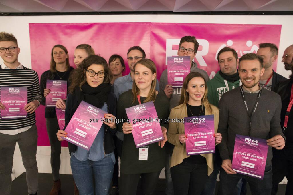 news aktuell GmbH: Aufbruchstimmung: Drei Tage PR-Hackathon in Frankfurt (Fotocredit: news aktuell GmbH), © Aussendung (20.02.2017)